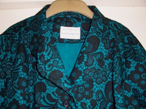 Jade Lace Print blouse 02