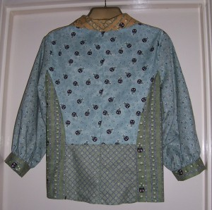 patchwork blouse 2 back