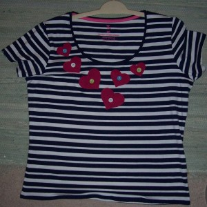 heart sailor tee