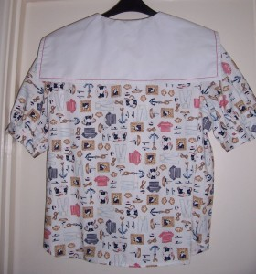 sailor blouse back