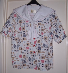 sailor blouse front