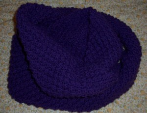 purple snood 1