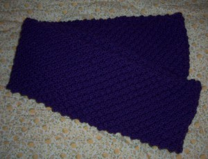 purple snood 2