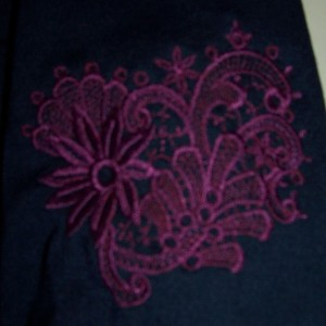 prima 51 sleeve embroidery