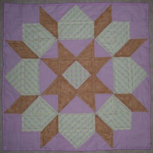 baby quilt quilted swoon