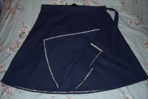 navy wraparound skirt 2 shows hong kong finish