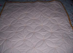 rreverse of full quilt